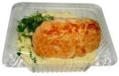 Котлета из красной рыбы с гарниром (Готовые обеды)