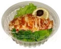 Рыба запеченная «Бриз» с гарниром (Готовые обеды)