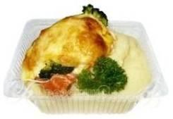 Рыба запеченная с овощами с гарниром (Готовые обеды)