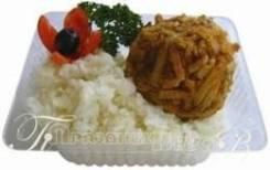 Зразы «Каштан» с гарниром (Готовые обеды)