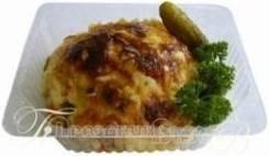 Мясо по-приморски c гарниром (Готовые обеды)