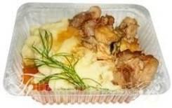Чахохбили с гарниром (Готовые обеды)