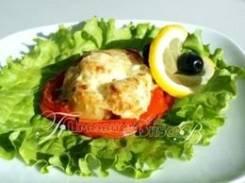 Гребешок запеченный с овощами (Праздничное меню)