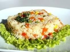 Рис с овощами (Праздничное меню)