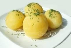 Картофель отварной (Праздничное меню)