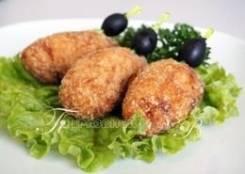 Рулетики куриные с грибами (1 шт.) (Праздничное меню)
