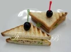 Сэндвич с курицей (4 шт.) (Праздничное меню)