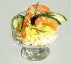 "Салат-коктейль ""Посейдон"" (Праздничное меню)"