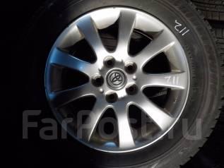 Продам оригинальные колёса на зимней резине. 6.5x16 5x114.30 ET50