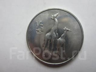 Северная Корея 1/2 чона, 2002 года. Мир животных - Жираф