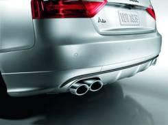 Диффузор заднего бампера Audi A5. Audi S5, 8T3, 8TA, 8F7 Audi A5, 8T3, 8TA, 8F7 Двигатели: CAMA, CAPA, CGWC, CAUA, CCWA, CABA, CGKA, CDHB, CBAB, CCBA...