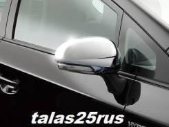 Накладка на зеркало. Toyota Wish, ZGE20G, ZGE20W, ZGE22W, ZGE21G, ZGE25G, ZGE25W