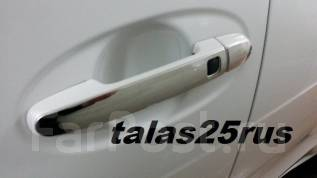 Накладка на ручки дверей. Toyota Ractis, NCP100, SCP100, NCP105