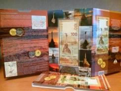 Блистерный альбом 10руб. +купюра 100руб. присоединение Крыма и Севастоп