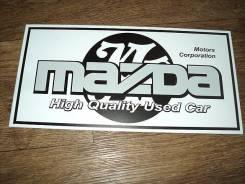 Табличка. Mazda