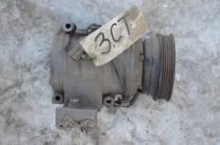Компрессор кондиционера. Toyota Ipsum, CXM10G, CXM10 Двигатель 3CTE