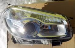 Фара. Nissan Qashqai+2 Nissan Qashqai Двигатели: K9K, MR20DE, R9M, HR16DE, M9R
