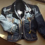 Куртки джинсовые. 40, 42