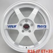 RAYS VOLK RACING. 7.0x16, 5x114.30, ET35, ЦО 73,1мм.