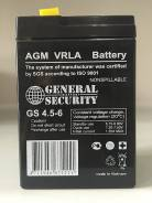 Аккумулятор для электромобилей GS 4.5-6; 4.5 а/ч, 6 вольт