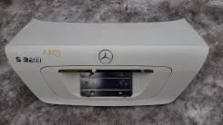 Крышка багажника. Mercedes-Benz S-Class