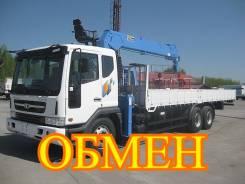 Daewoo Novus SE. Самогруз , 2014 г. в., 12 000 куб. см., 15 000 кг.