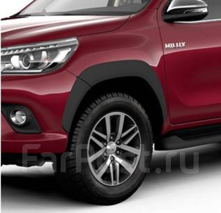 Расширители хайлюкс 2016. Toyota Hilux Pick Up, GUN125, GUN126L, GUN125L Двигатели: 2GDFTV, 1GDFTV