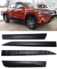 Накладка на дверь. Toyota Hilux Pick Up, GUN125L, GUN125, GUN126L Двигатели: 2GDFTV, 1GDFTV