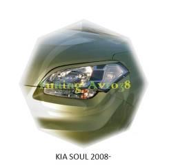 Накладка на фару. Kia Soul, AM Двигатели: D4FB, G4FC