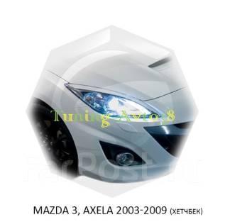 Накладка на фару. Mazda Mazda3 Mazda Axela, BK3P, BK5P, BKEP Двигатели: L3VDT, L3VE, LFDE, LFVE, ZYVE