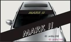 Наклейка. Toyota Mark II