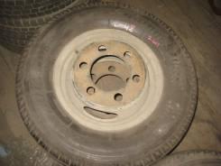 Bridgestone Duravis R670. Летние, 2006 год, износ: 5%, 2 шт