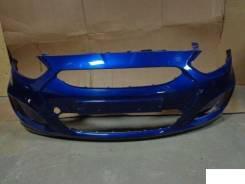 Бампер. Hyundai Solaris