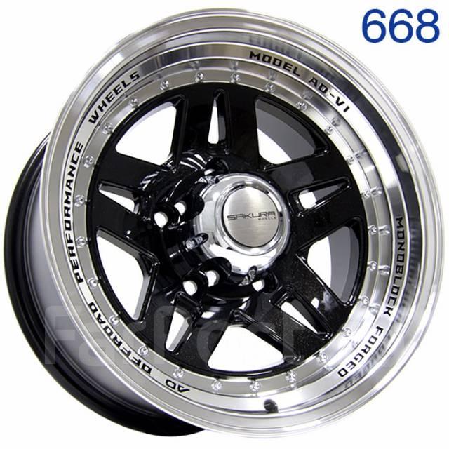 Нужны литые диски? Sakura Wheels - стиль и надежность в каждом диске!