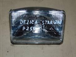 Фара. Mitsubishi Delica, P25V Mitsubishi Delica Star Wagon, P25V