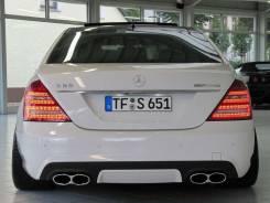 Насадка на глушитель. Mercedes-Benz S-Class, W221