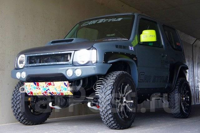 Расширитель крыла. Suzuki Jimny, JB23W, JB33W, JB43, JB43W Suzuki Jimny Wide, JB33W, JB43W Suzuki Jimny Sierra, JB43W. Под заказ