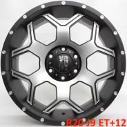 XD Series. 9.0x20, 6x139.70, ET12, ЦО 108,0мм.