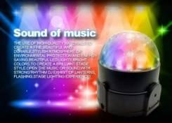 Цветомузыкальная мини установка для автомобиля CAR DJ Lights. Mini