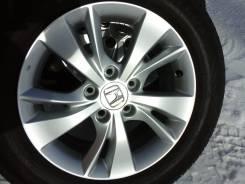 Литье Хонда Vezel-оригинал R16+215/60R16 Dunlop Enasave EC300. 7.0x16 5x114.30 ET55 ЦО 64,1мм.