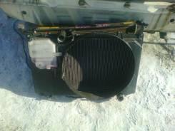 Радиатор охлаждения двигателя. Toyota Chaser, GX100, LX100, GX105 Двигатель 1GFE