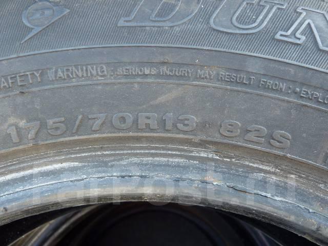 Dunlop SP 70. Летние, износ: 5%