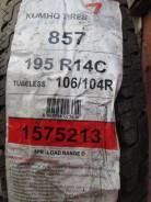 Kumho Radial 857. Летние, 2011 год, без износа, 4 шт