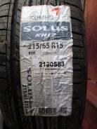 Kumho Solus KH17. Летние, 2013 год, без износа, 4 шт