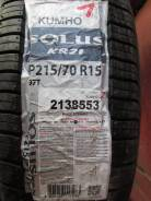 Kumho Solus KR21. Летние, 2012 год, без износа, 4 шт