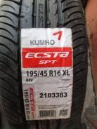 Kumho Ecsta SPT KU31. Летние, 2012 год, без износа, 4 шт