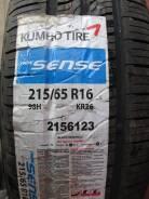 Kumho Sense KR26. Летние, 2014 год, без износа, 4 шт