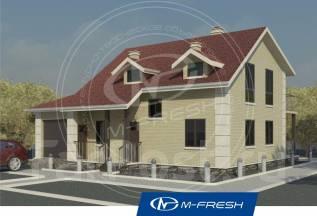 M-fresh Smart (Начнем с планировок и фундамента). 100-200 кв. м., 1 этаж, 5 комнат, кирпич