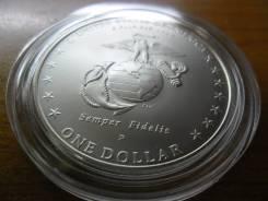 Юбилейная монета 1 доллар США, 2005г.