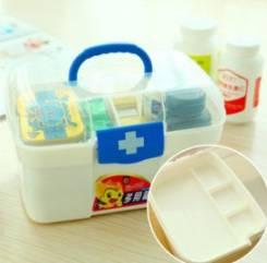 Аптечки, таблетницы.